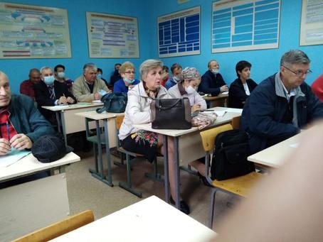Занятия с преподавателями-организаторами  ОБЖ в рамках учебно-методических сборов