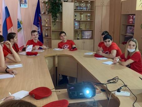 Юнармейцы области приняли участие в интерактивной викторине «Непобедимый город»