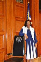Jackson at The Louisiana State Capitol