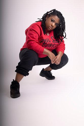 Deep Red Real Gunkie Sweatshirt