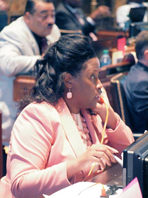 Working on the House Floor Louisiana State Capitol
