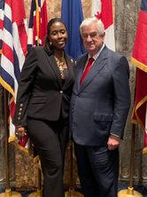 Jackson with Senator Alario, President of Senate