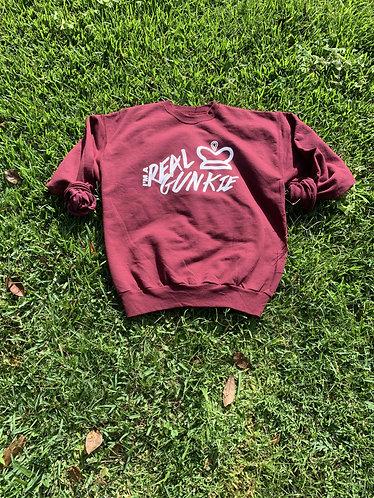 Maroon Real Gunkie Sweatshirt
