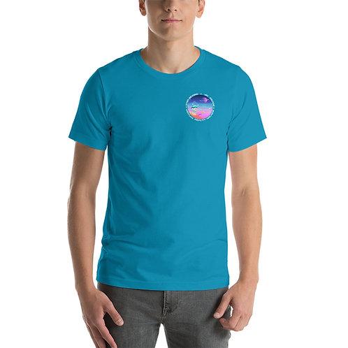 VR World Front and Back Short-Sleeve Unisex T-Shirt