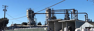 Picture of NorCal Perlite Wholesale Manufacturing and Distribution Plant in the San Francisco Northern California East Bay Area City of Richmond, CA