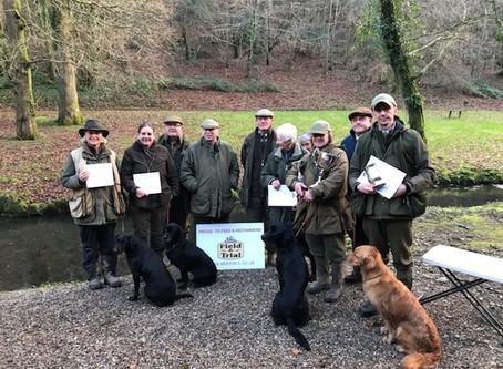 Open stake Lyneham Estate (UK) - 3th place & guns choice!