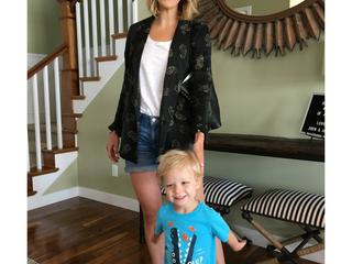 Stylist Saturday: Carly on Trend Silk Pajama Inspired Blazers