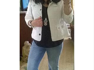 Stylist Saturday: Un-Hemmed/Frayed Jeans