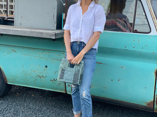 Easy date night outfit!                    Stylist Saturday: Carly