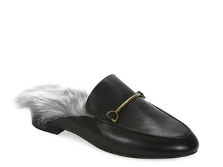 Buy-of-the-Week: Fur Lined Loafer Mules