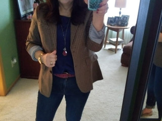 New Blazer: Stylist Kathy