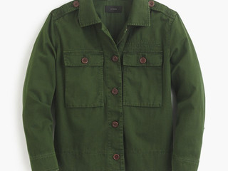 Buy-of-the-Week: JCrew Garment Dyed Shirt Jacket