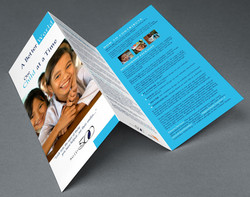 Tri Fold Brochure Mission 500