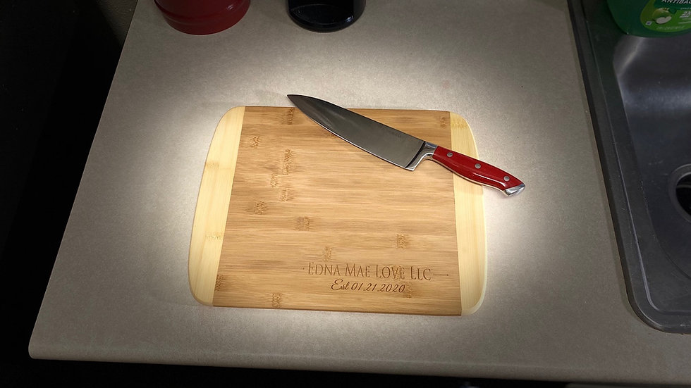"Official ""Edna Mae Love"" cutting boards"