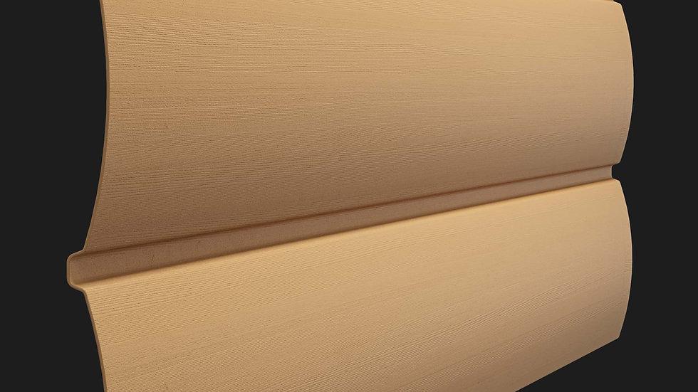 "Сайдинг Docke Premium D4,7Т ""Блок хаус"" 3,66x0,243м."