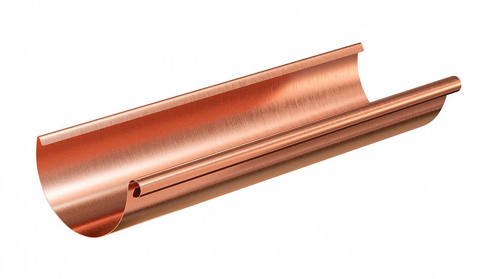 Водосток Aquasystem металл 125/90 Желоб 3 м
