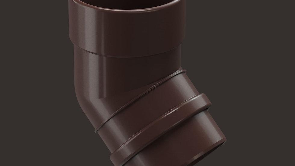 Docke Lux 141/100 Колено трубы 45°