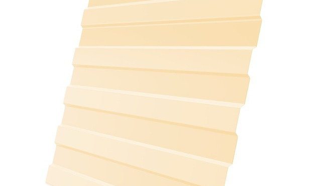 Профнастил С-8 полиэстр 0,5 мм 2х1,20 Стандартные цвета.