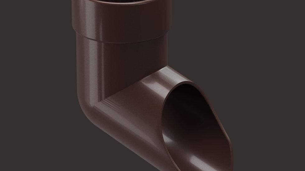 Docke Lux 141/100 Наконечник (колено трубы нижнее)