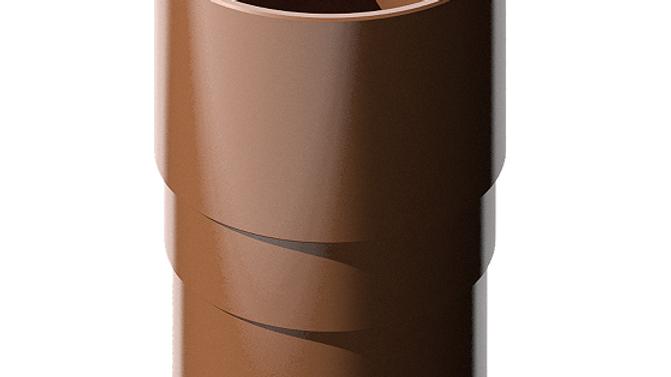 Водосток ПВХ Технониколь 120/80 Муфта трубы