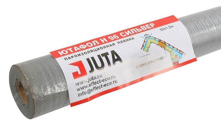 Ютафол Juta N96 Silver Пароизоляционная плёнка 75 кв.м.