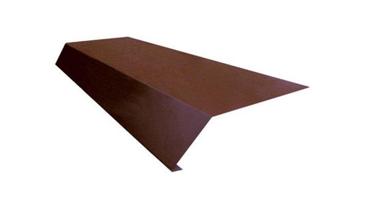 Карнизная планка (капельник) Полиэстр 100х65  2 п/м