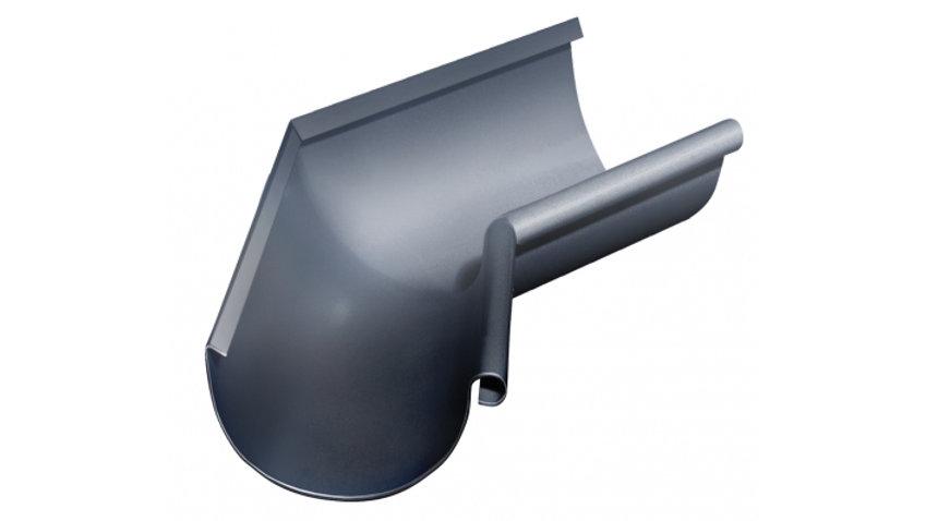 Водосток Grand Line металл 125/90 Гранит Угол желоба 135° внешний/внутренни