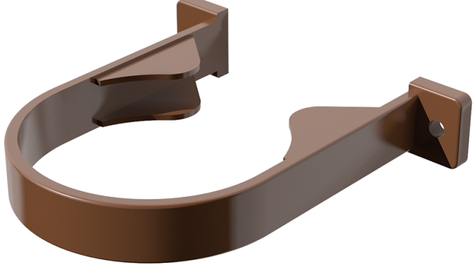 Водосток ПВХ Технониколь 120/80 Кронштейн трубы