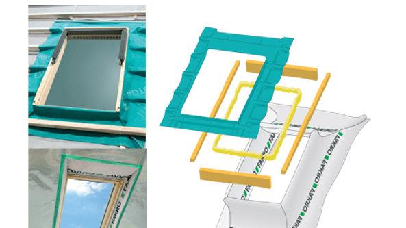Fakro Комплект гидро/пароизоляционных окладов с утеплением XDK