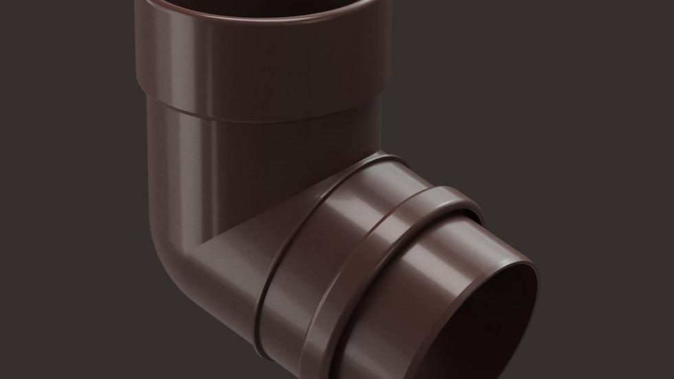 Docke Lux 141/100 Колено трубы 72°