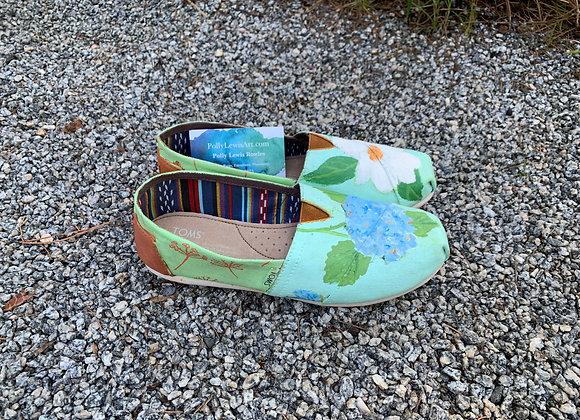 Hydrangea - Magnolia Shoes