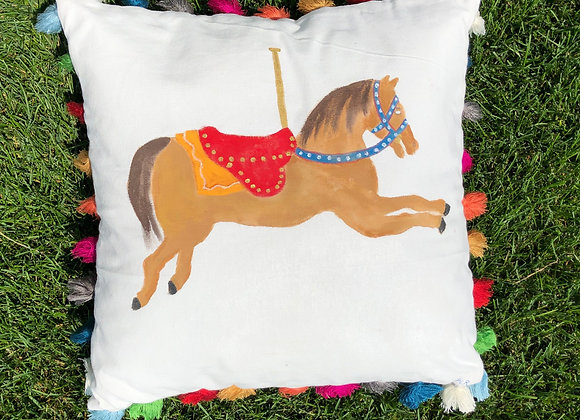 Watch Hill Merry-Go-Round Pillow