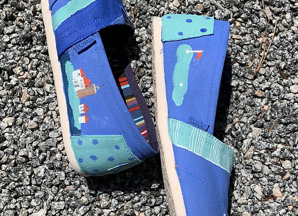 Class for Paint Your Own Sneakers