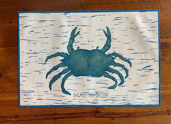 Wedding Crab Rug