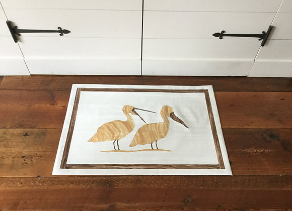 Pelicans Playing Rug