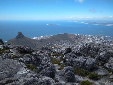 ÁFRICA DO SUL 9º Dia - Subindo (e descendo) a Table Mountain (22/11/2017)