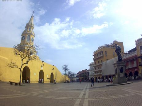 COLÔMBIA 1º Dia - Chegando à Cartagena (24/04/2017)