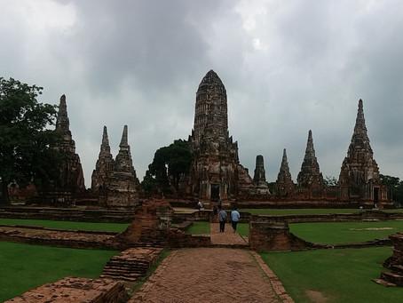 SUDESTE ASIÁTICO 6º Dia - Passando o dia na antiga capital da Tailândia (09/11/2016)