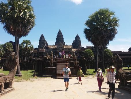 SUDESTE ASIÁTICO 13º Dia - Vislumbrando o amanhecer no Angkor Wat (16/11/2016)