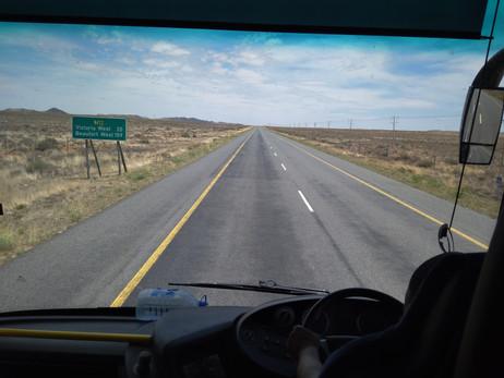 ÁFRICA DO SUL 7º Dia - E a jornada rumo à Cape Town continua... (20/11/2017)