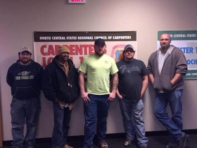 apprentices graduated Jan 2016