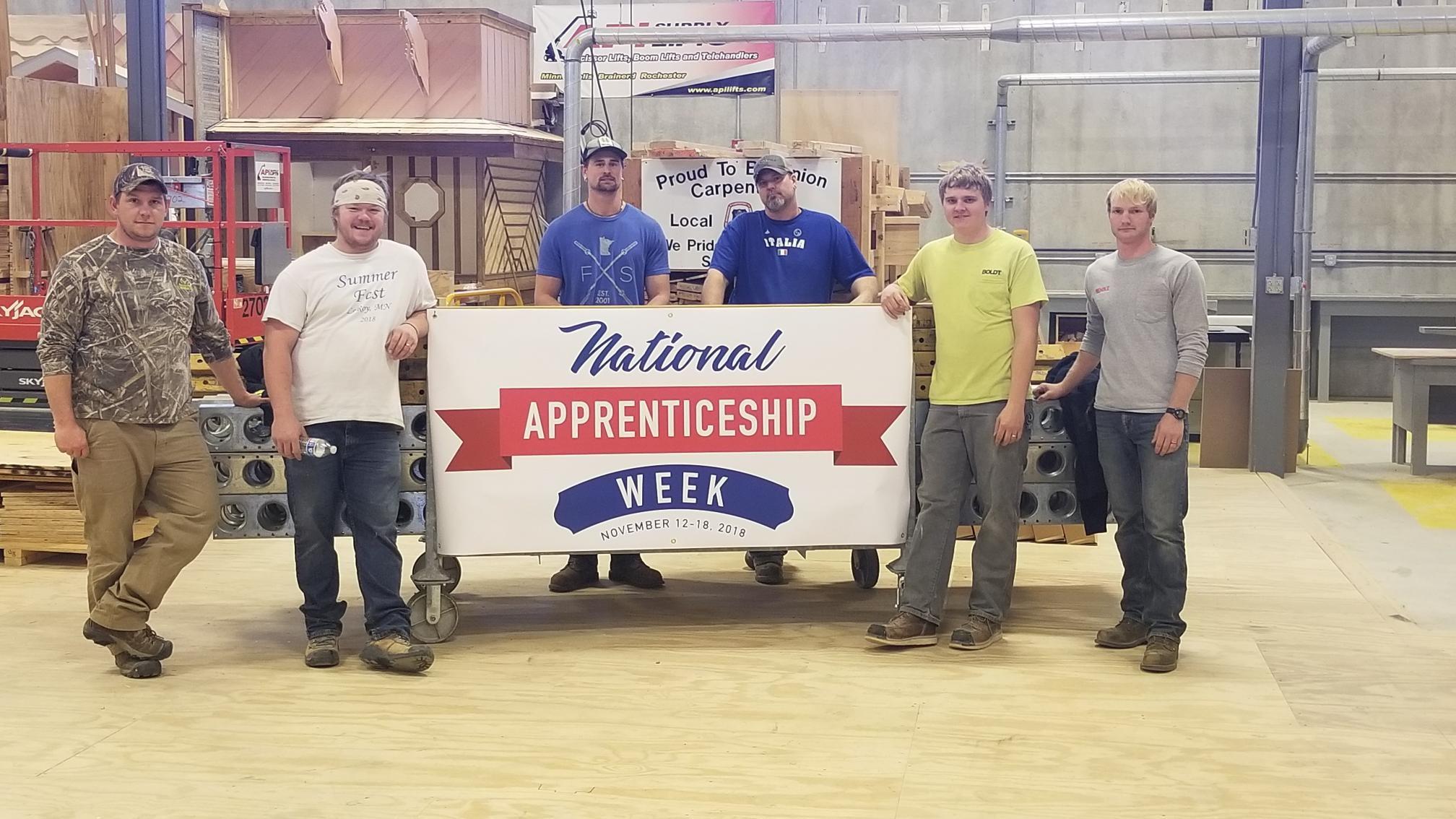 Apprenticeship Week Nov