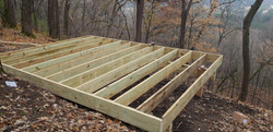 Oxbow park lookout build