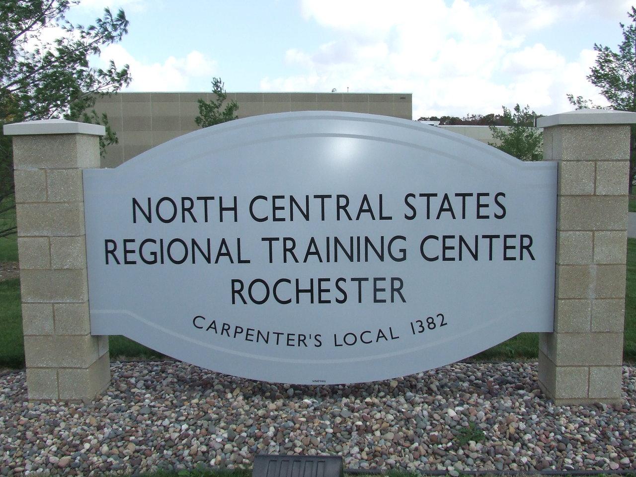 NCSRCC training center sign