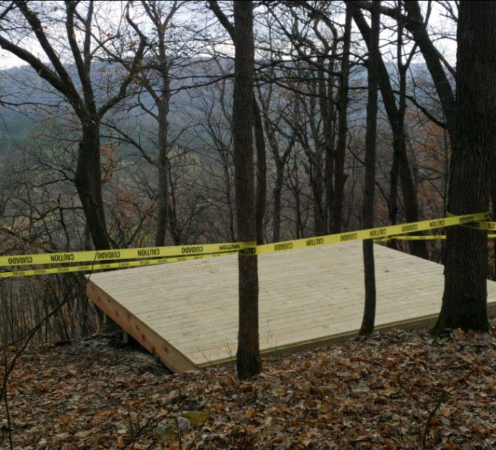 Oxbow Park Scenic Lookout Build