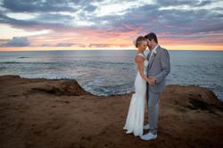 Sunset Cliffs wedding dance