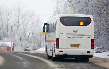 Общественный транспорт Каширы продлит работу в ночь на Крещение