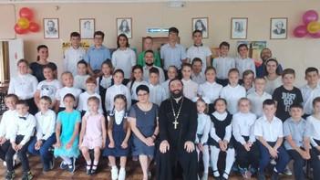 В школе №1 во вторую смену работает православный детский лагерь «Добрая воля»