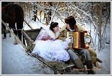 Сказочная зимняя свадьба!
