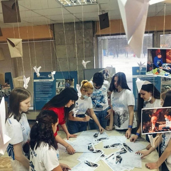 Волонтеры Победы МБОУ «Тарасковская СОШ» стали участниками форума «Великая Победа. Наследники»